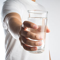 glass of water image