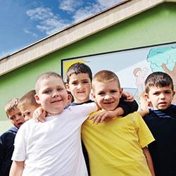 image of happy kids
